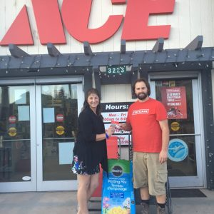 C. Ok - Irene-Wangler at Ace Hardware - July winner
