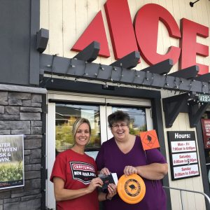 C. Ok - Lisa McNaughton at ACE Hardware - Aug winner
