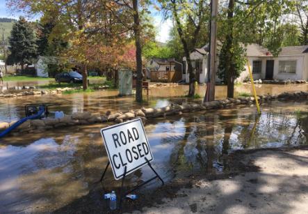 Brun Road Flooding