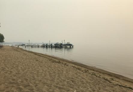 Smokey Okanagan Lake